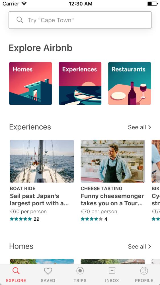 React Native Airbnb - Start React