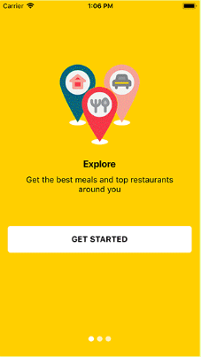 React Native Restaurant Theme