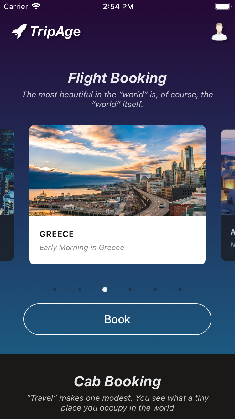 React Native Travel App Theme