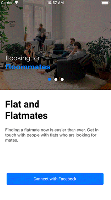 Flat & Flatmates With Backend